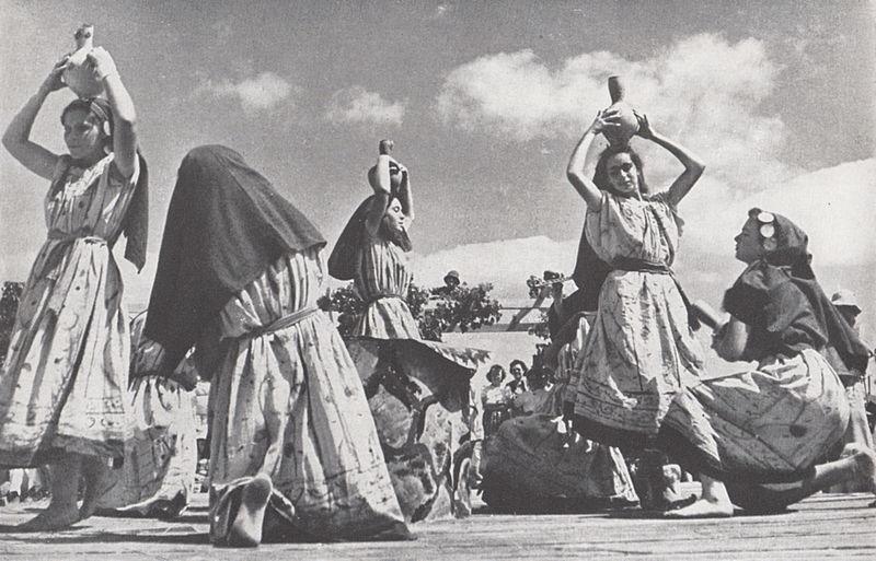 חגיגת ריקודי עם בקיבוץ דליה