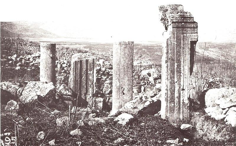 שרידי בית הכנסת באירביד ארבל