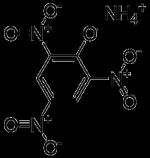 Dunnite - Image: Pikrynian amonu
