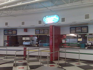 Food court - Champ's Cafe, a food court at Port Charlotte High School