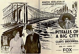 Pitfalls of a Big City (1919) - Ad 1.jpg