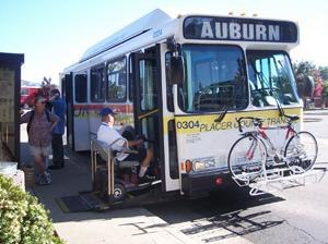 Placer County Transit - Image: Placer County Transit 0304