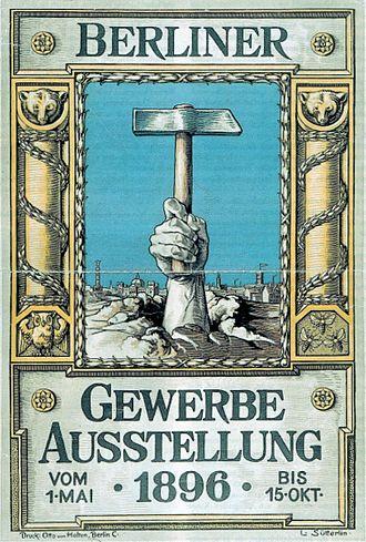 Great Industrial Exposition of Berlin - Image: Plakat Suetterlin 96