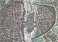 Plan de Paris vers 1530 Braun Paris HAAB enceintePA.jpg