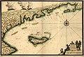 Plan de l'Ile a Vache & coste de St. Domingue de puis la pointe de l'Abacou iusquau cap de l'est d'Yaquin LOC 2003629715.jpg