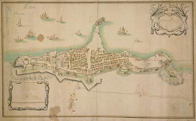 La città e le fortificazioni di Piombino nel XVIII secolo