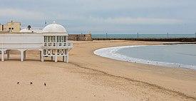 fotos playas de cadiz espana