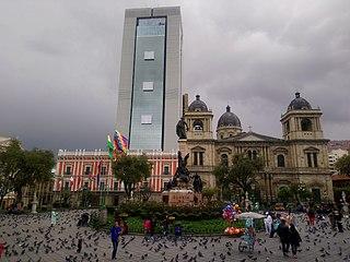 Casa Grande del Pueblo Bolivian presidential residence