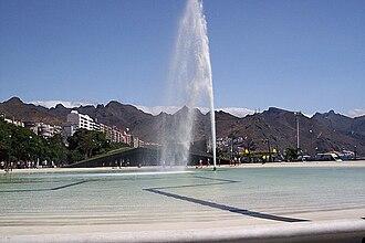 Plaza de España (Santa Cruz de Tenerife) - Artificial lake