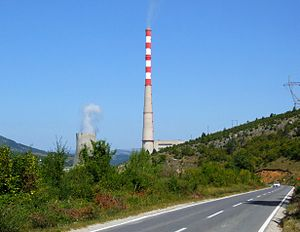 Pljevlja Power Station - Image: Pljevlja Power Station