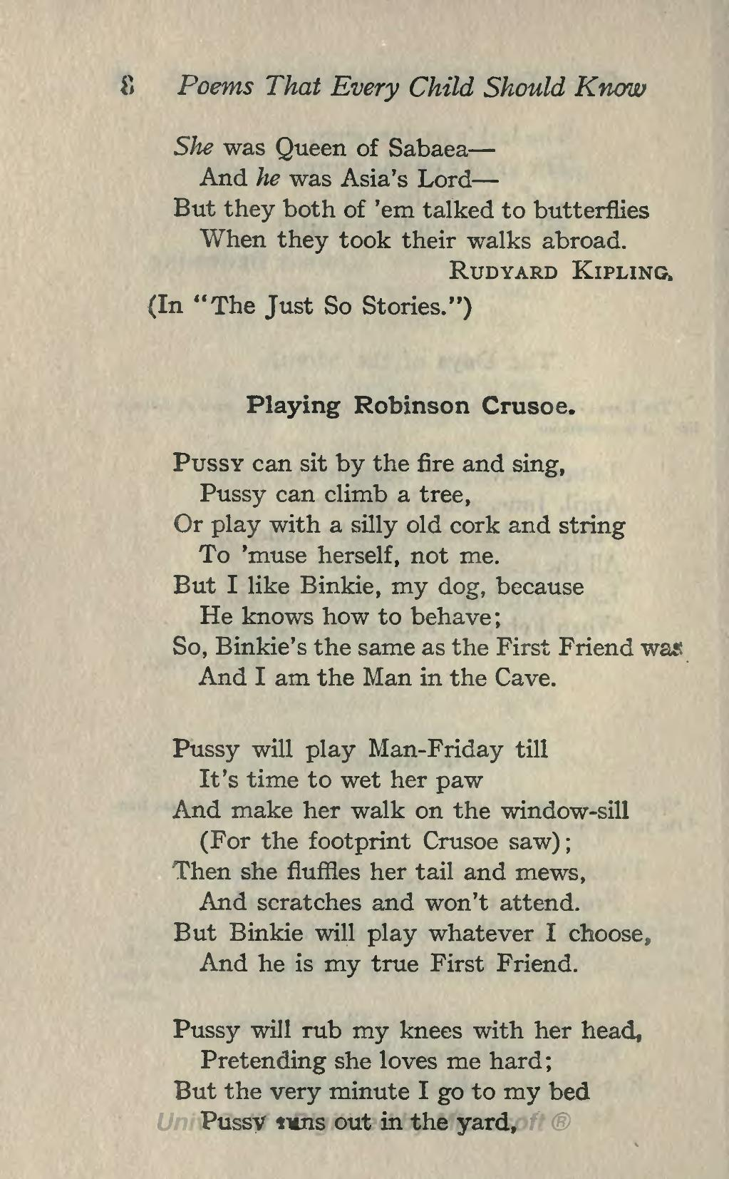 Pagepoems That Every Child Should Know Ed Burt 1904djvu46