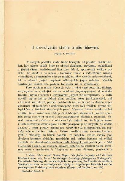 File:Polívka - O srovnávacím studiu tradic lidových.djvu