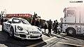 Porsche 997 GT3 Cup of Giorgio Piccioni number 60 italian PCC Monza 2012 (8113589466).jpg