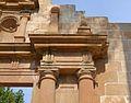Portada reconstruïda de l'església de Sant Pere de Benissa, detall.JPG