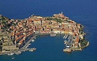 Elba Mediterranean island near Italy