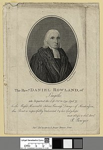 Portrait of The Revd. Daniel Rowland, of Langeitho, who departed this life Octr- 16- aged 77 (4671935).jpg