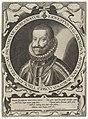 Portret van Ernst, aartshertog van Oostenrijk Portretten van regeerders van de Nederlanden (serietitel), RP-P-1910-1859.jpg