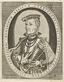 Portret van Ferdinand II van Tirol Portretten van heersers (serietitel), RP-P-1881-A-4789.jpg