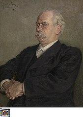 Portret van Julius Sabbe