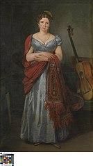 Portret van Sylvie de la Rue
