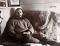 """Portrett av kaptein Otto Sverdrup (1854-1930) i kahytten på """"Fram"""", 1895 (11511800535).jpg"""