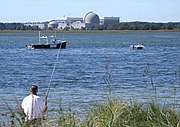Power plant fisherman