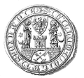 Poznań seal from XIV century.PNG