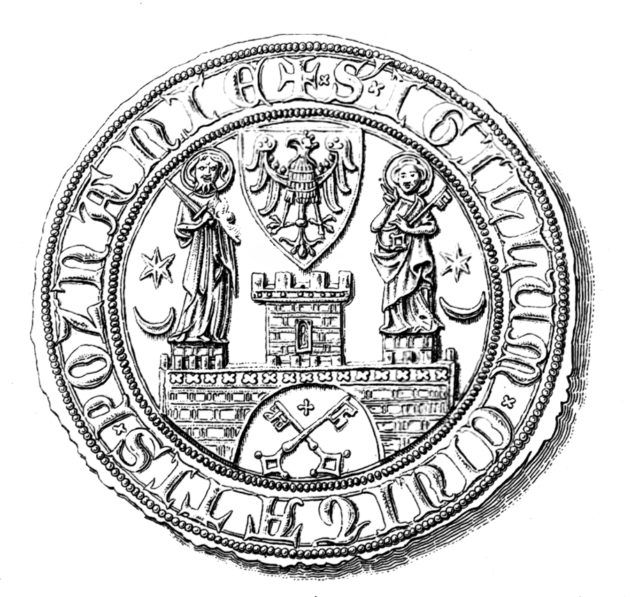 Pozna%C5%84 seal from XIV century