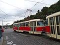 Průvod tramvají 2015, 18b - tramvaj 6149 a 6102.jpg