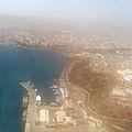 Praia-Vue aérienne du port.jpg