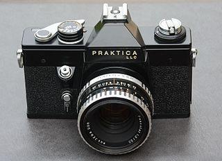 Praktica Brand of camera by Pentacon
