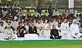 Pranab Mukherjee, the Vice President, Shri Mohd. Hamid Ansari, the Prime Minister, Dr. Manmohan Singh, the Chairperson, National Advisory Council, Smt. Sonia Gandhi, the Chief Minister of Delhi.jpg