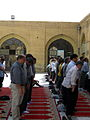 Prayers of Noon - Grand Mosque of Nishapur -September 27 2013 36.JPG