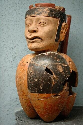 Tiwanaku empire - Anthropomorphic receptacle