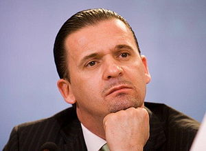 FK Partizan - Former Partizan striker Predrag Mijatović.