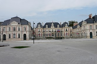 Vienne - Prefecture building of the Vienne department, in Poitiers