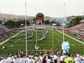 Pregame, University of Arizona Wildcats vs. University of Nevada Wolf Pack, Mackay Stadium, Reno, Nevada (21372968025).jpg