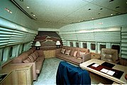 President's private cabin aboard Air Force One