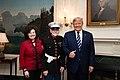 President Trump Meets with World War II Iwo Jima Veterans (49617513193).jpg