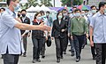 President of Taiwan Tsai Ing-wen with the officials concerned visiting the mourning hall of victims of 2021 Hualien train derailment.jpg