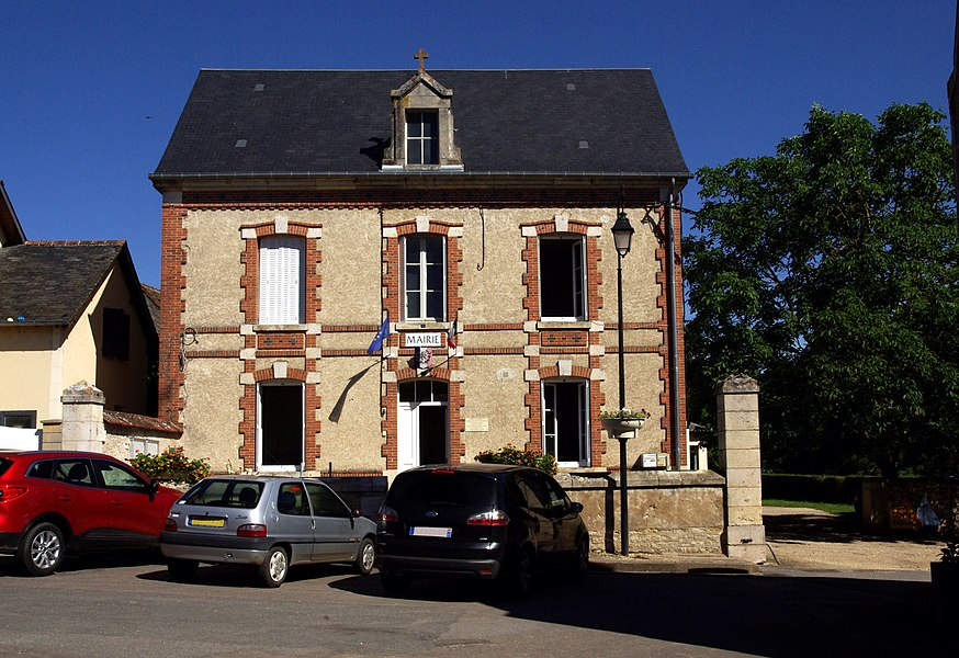 City hall of Preuilly (France, Cher)