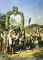 Preziosi - Carol I welcomed in a village in the Carpathians, July 7, 1868.jpg