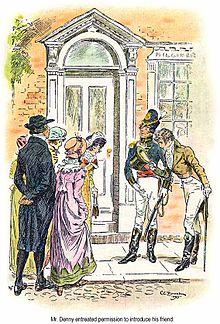 Mr Danny presenta alle sorelle Bennet un suo amico, George Wickham