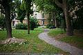 Primo quartiere popolare via Solari Il giardino.jpg