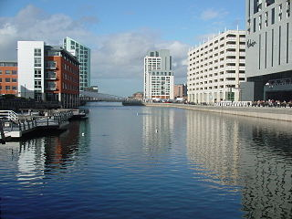 part of the Port of Liverpool, England