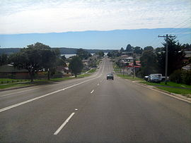 Princes Highway at Eden, NSW.JPG