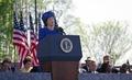 Princess Margriet of the Netherlands speaks at the 1997 dedication of the Franklin Delano Roosevelt Memorial in Washington, D.C LCCN2011634165.tif