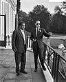 Prins Bernhard ontvangt Gouverneur van Khartoen, Mohammend Mhalil Bateik, Bestanddeelnr 910-6271.jpg
