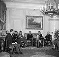 Prinses Juliana en prins Bernhard in gesprek met de Zwitserse Bondspresident in , Bestanddeelnr 252-1982.jpg