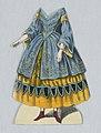 """Print, Jenny Lind Paper Doll Costume, Vielka from the opera """"Vielka"""", ca. 1850 (CH 18392599).jpg"""